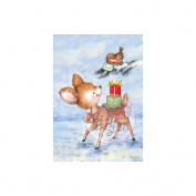 Wild Rose Studio Ltd. Clear Stamp 8.9cm x 7.6cm Sheet-Bluebell W/Saddle