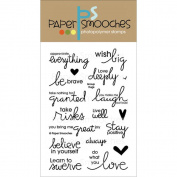Paper Smooches 10cm x 15cm Clear Stamps-Group Hugs