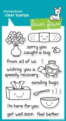 Lawn Fawn Clear Stamps 10cm x 15cm -On The Mend