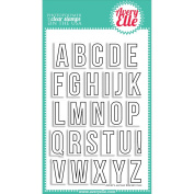 Avery Elle Clear Stamp Set 10cm x 15cm -Avery's Alphas