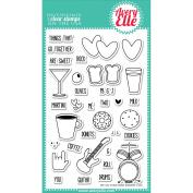 Avery Elle Clear Stamp Set 10cm x 15cm