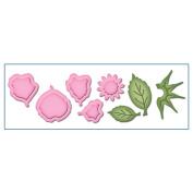 Spellbinders Shapeabilities Die D-Lites-Create A Rose