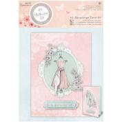 Papermania Bellisima Card Kit A5-Decoupage Dress