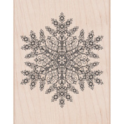 Hero Arts Mounted Rubber Stamps 15cm x 11cm -Dazzling Snowflake