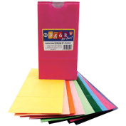 Gusseted Flat Bottom Bags 11cm x 6.4cm X8.13cm 50/Pkg-Assorted Colours