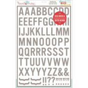 Stencil Mask Peel Away Alphabet 30cm x 46cm Sheet-Blindside, 4.4cm Letters