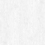 American Crafts Textured Cardstock 30cm x 30cm -White Woodgrain
