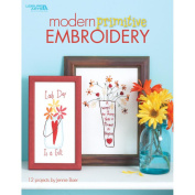 Leisure Arts-Modern Primitive Embroidery