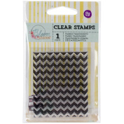 Prima Marketing 980078 Bloom Clear Stamps, 6.4cm by 7.6cm , Chevron