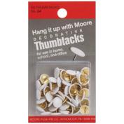 Thumbtacks 60/Pkg-White