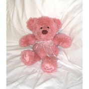 Huggables Pink Teddy Stuffed Toy Latch Hook Kit, 36cm Tall
