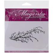 Magenta Cling Stamps 5.7cm x 12cm -Branch