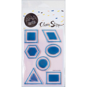 AHA Arts Clear Stamps 10cm x 15cm Sheet-Essential Shapes