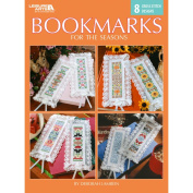 Leisure Arts-Bookmarks For The Seasons