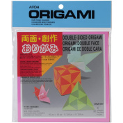 Aitoh WM-100 Origami Paper 36-Pkg-Double Sided Solid 15cm . x 15cm .