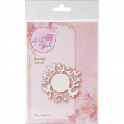 Wild Rose Studio Specialty Die 6.4cm x 6.4cm -Flower Circle