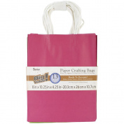 Paper Bags 11cm x 20cm X10.60cm 13/Pkg-Assorted Brights