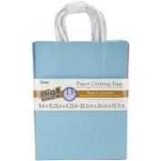 Paper Bags 11cm x 20cm X10.60cm 13/Pkg-Assorted Fashion