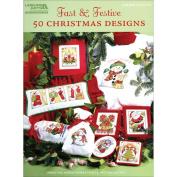 Leisure Arts-Fast & Festive, 50 Christmas Designs