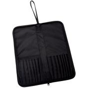 Keep N' Carry Zippered Brush Carrier 32cm x 37cm -Long Handle-Black