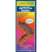 Leathercraft Kit-Mystery Braid Bracelets 2/Pkg