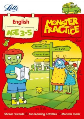 English Age 3-5 (Letts Monster Practice) (Letts Monster Practice)