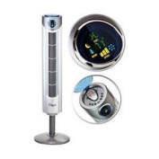 Ozeri Fan. Ultra 110cm . Adjustable Height Oscillating Tower Fan with Noiseless Airflow Technology OZF1