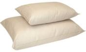 Naturepedic Organic Kapok and Organic Cotton Pillow - Standard Size LS54