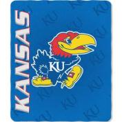 Kansas Jayhawks 50x60 Fleece Blanket - Mark Design