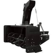 NorTrac AgriEase 3-Pt. Snow Blower - 220cm  W Intake, Fits Tractors 50HP to 80 HP, Model BE-SBS86HDG