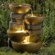 Seasons Furnishings Pots Water Fountain with LED Light FCL037