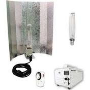 Virtual Sun 1000W HPS MH Winged Reflector Magnetic Grow Light Kit 1000