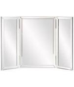Howard Elliot Collection 99003 Tripoli Trifold Glass Vanity Mirror