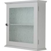 Elegant Home Fashions Connor 1 Glass Door Medicine Cabinet ELG-578