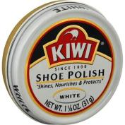 Kiwi Shoe Polish, White - 35ml