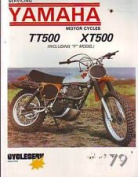 YAMAHA XT500 TT500 XT500F TT500F WORKSHOP REPAIR SERVICE MANUAL 1979YAMAHA XT500 TT500 XT500F TT500F WORKSHOP REPAIR SERVICE MANUAL 1979