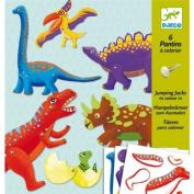 Djeco Dinosaur Puppet Paper Craft Kit