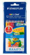 Set 144 NC12P 12 colours Staedtler Noris Club coloured pencils