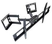 Impact Mounts Corner TV Wall Mount for Plasma, LCD, LED TVs 90cm - 160cm (37 40 42 46 47 50 55 60 63) Full Motion Articulate Articulating Tilts Swivels