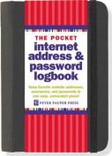 Pocket-Sized Internet Address & Password Logbook