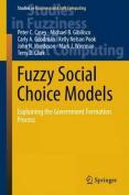 Fuzzy Social Choice Models