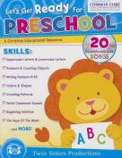 Let's Get Ready for Preschool Christian Bind-Up Workbook