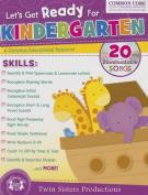 Let's Get Ready for Kindergarten Christian Bind-Up Workbook