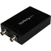 SDI to HDMI Converter - 3G SDI to HDMI Adapter with SDI Loop Through Output