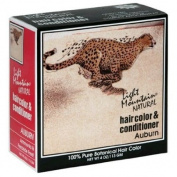Light Mountain Natural Hair Colour & Conditioner, Auburn, 120ml (113 g)