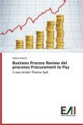 Business Process Review del Processo Procurement to Pay [ITA]