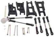 Traxxas Stampede 2WD VXL FRONT & REAR SUSPENSION ARMS & HINGE PINS & TURNBUCKLES