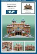 HMV 3526 Papermodel Favourite Palace Ludwigsburg