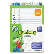 LeapFrog Mini Dry Erase Book, Numbers, Grades K-1, 8 Pages