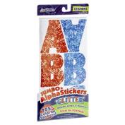 ArtSkills Glitter Jumbo AlphaStickers - 105 CT